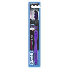 <b>Зубная щетка Oral</b>-<b>B</b> Neon Fresh <b>Всесторонняя</b> чистка BLACK ...