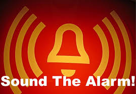 Image result for pics of sound the alarm