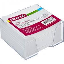 <b>Attache Блок</b> для записей в подставке 9х9х5 см - Акушерство.Ru