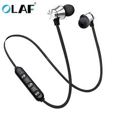 <b>OLAF Earphone Wired</b> in Ear Magnet Exercise Sport Bluetooth ...