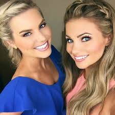 Photo of Amber Lancaster  & her friend Rachel Reynold