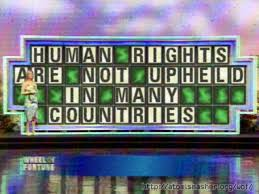 International human rights don't exist
