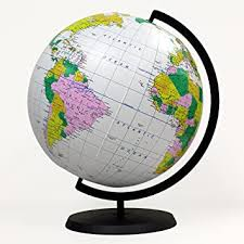 Buy Educational <b>Inflatable Globe</b> of The <b>World</b> - 12 Inch Blow Up ...