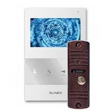 Комплект <b>видеодомофона Slinex SQ-04M</b> с вызывной панелью ...