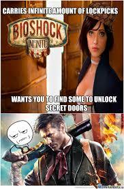 Scumbag Elizabeth Bioshock Infinite by Pokemonmemester - Meme Center via Relatably.com