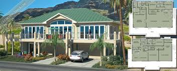 Beach House Plans by Beach Cat HomesClearview ILS NP