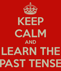 Grammar Tenses, Past tense