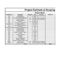 estimate spreadsheet template haisume project cost estimate template spreadsheet construction cost estimate template excel