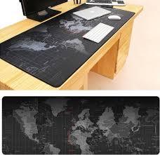 Extended Large <b>Anti</b>-<b>Slip World Map</b> Pattern Soft <b>Rubber</b> Smooth ...