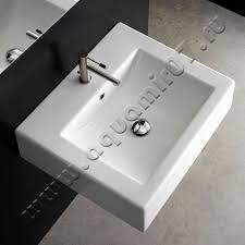 <b>Раковина</b> подвесная <b>Scarabeo Square</b> 50 см (8025/B, 8025B ...
