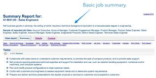 how to write a job description basic job summary