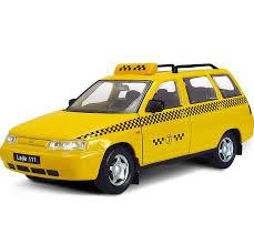 <b>Машинка</b>-<b>игрушка Autogrand</b> Лада 111 Такси желтый — купить в ...