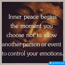 INNER PEACE Quotes Like Success via Relatably.com