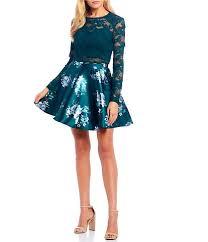 <b>2 Piece</b> Juniors' Prom & Formal Dresses | Dillard's