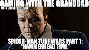 """GWTG: Spider-Man Turf Wars Part 1: """"<b>Hammerhead</b> Time"""" - YouTube"""