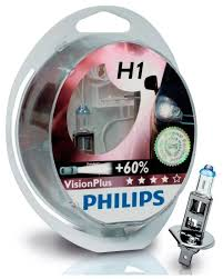 Купить <b>Лампа автомобильная</b> галогенная Philips Vision Plus + 60 ...