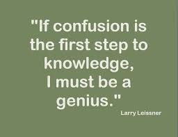 CONFUSION Quotes Like Success via Relatably.com