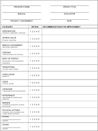 Toastmaster Evaluation Template | Download Free & Premium ...