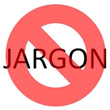 No Jargon Sign
