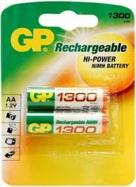 <b>Аккумулятор GP 130AAHC</b> AA 1300mAh (2шт) купить в интернет ...