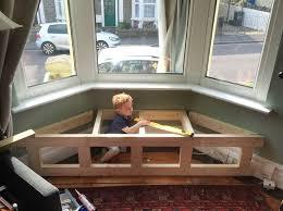 victorian bay window seat with storage frame bay window seat