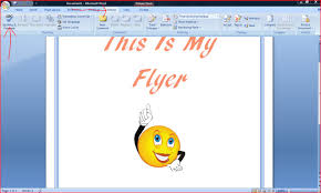 how to make a flyer on microsoft word it still works 6