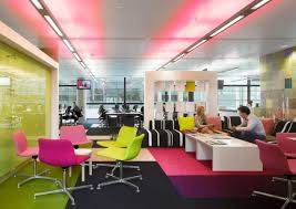 cozy office interior colorful seats charming office interior design amazing office design