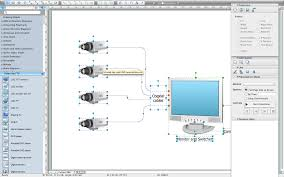 basic cctv system diagram  cctv network diagram example   cctv    cctv network diagram software
