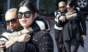 Kat Von D is held close by husband Rafael Reyes on romantic stroll ...