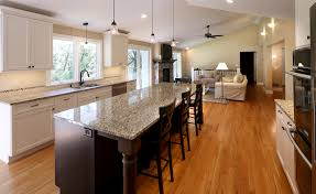 Small Kitchen Living Room Unique Kitchen Living Room Open Floor Plan Pictures Awesome Ideas