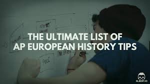 the ultimate list of ap european history tips io
