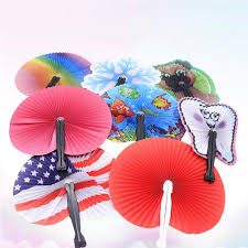 20PCS Hand Fans <b>Creative Portable</b> Summer Hot <b>Creative Small</b> ...
