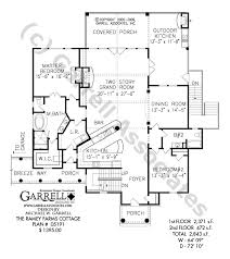 Ramey Farms Cottage House Plan   Country Farmhouse Southernramey farms cottage house plan   st floor plan