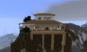Modern Mountain House Clean Modern Mountain House Minecraft Project