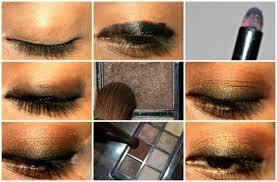 eye makeup tutorial for deep set eyes kohl and bronze
