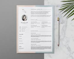 20 resume cover letter template word eps ai and psd format editable resume and cover letter template