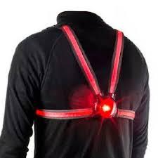 Veglo Commuter X4 <b>Wearable Fiber</b> Optic Rear Bicycle Backpack ...