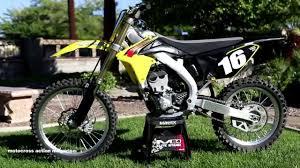 Suzuki Rmz 250 First Ride 2015 Suzuki Rmz250 Motocross Action Magazine Youtube