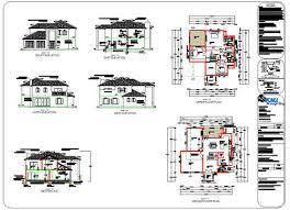 DOUBLE STORY HOUSE PLANS   FREE FLOOR PLANSHouse Modern Double Story Plans   Donkiz Real Estate