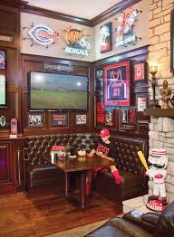 sports bar scores big basement sports bar ideas