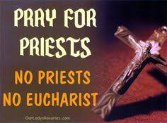 Image result for priest - eucharist