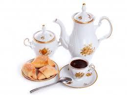 Расположение кофейных чашек для концепции ...