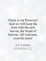 The point of cleaning for Pesach is to remember that we are ...