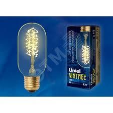 <b>Лампа</b> накаливания декоративная ЛОН <b>40</b> вт 250 Лм <b>E27</b> Vintage ...