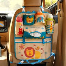 Multi-functional <b>Car</b> Seat <b>Hanging Storage Bag</b> for Baby Stuff ...