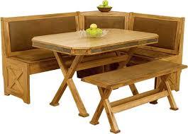 arizona rustic oak breakfast nook set w upholstered seats breakfast nook furniture set