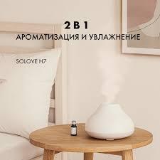 Solove Russia - <b>Беспроводной увлажнитель воздуха SOLOVE</b> ...