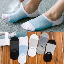 Big Sale #4b8d - 1/3/5pair Men's Cotton Socks Fashion Non-slip ...