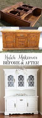ideas china hutch decor pinterest: china hutch makeover from start to finish using americana decor chalky finish decoartprojects
