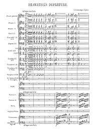 the song of hiawatha op coleridge taylor samuel imslp scoresparts 87